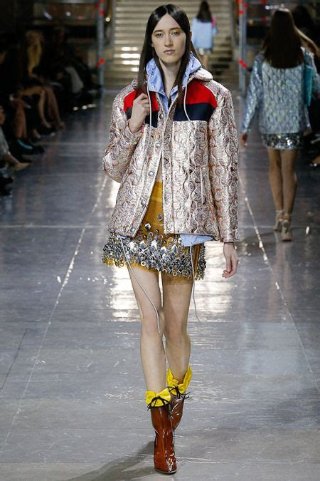A Skewed Lonely View On Lv Runway by Miuccia Prada Miumiu Fashion Week Takes The Banal