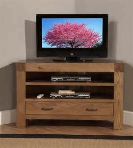 Tv Cabinet Furniture Santana Oak Corner Tv Cabinet