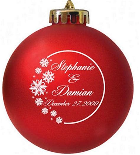 christmas wedding favors christmas ornament wedding