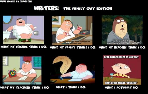 Memes Family Guy - writers meme the family guy edition by xkwriter on