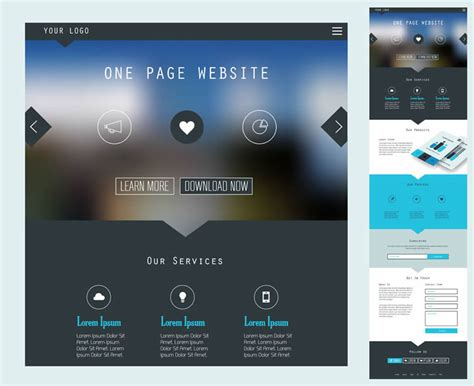 membuat web one page all i want is a simple one page web design for my business