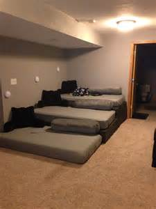 Diy Home Theater Seating Ideas 17 Best Ideas About Mattress On