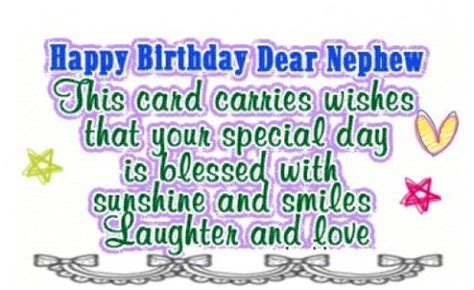 Happy Birthday Wishes To Nephew Top 70 Birthday Wishes And Messages For Nephew
