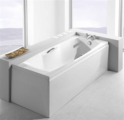 bathtub 1400mm carron imperial 1400mm x 700mm single ended bath with twin