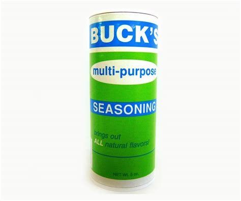 multi purpose buck s multi purpose seasoning 5 oz syracuse crate