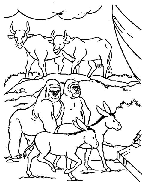 coloring pages noah s ark animals animal coloring pages noahs ark coloring pages