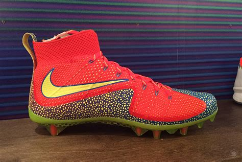nike american football shoes an exclusive look at the nike cleats at the 2015 nfl