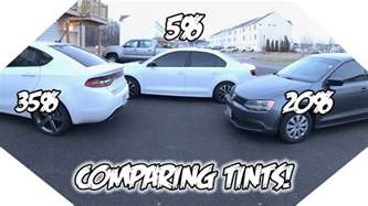 35 vs 20 vs 5 window tint what tint is best for you