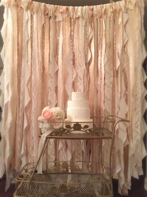 best 25 fabric backdrop wedding ideas on
