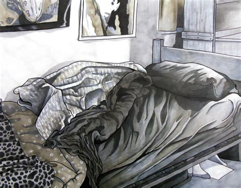 unmade bed unmade bed by paintmyworldrainbow on deviantart