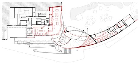 zoo floor plan zurich zoo foyer renovation extension l3p architects