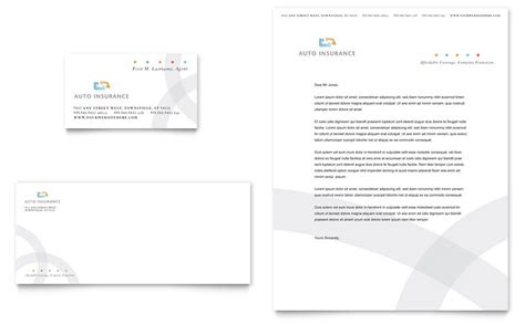insurance card template pdf car insurance company business card letterhead template