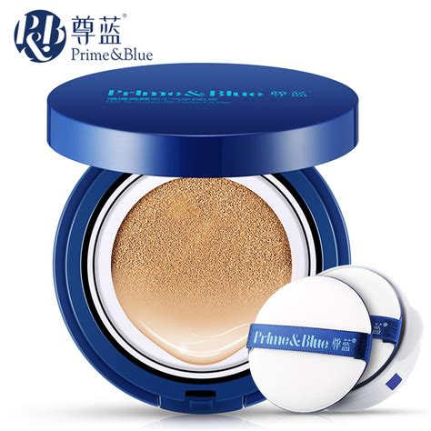 prime blue air cushion bb brighten skin care concealer
