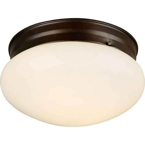 Bronze Flush Mount Ceiling Light Filament Design Burton 1 Light Ceiling Antique Bronze Incandescent Flush Mount The Home Depot