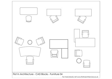 cad office furniture free cad blocks furniture office desks in