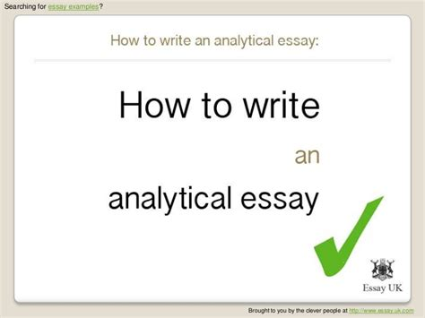Analytical Expository Essay Topics by Analytical Essay Help Pay To Write Architecture Thesis Statement Homework Help