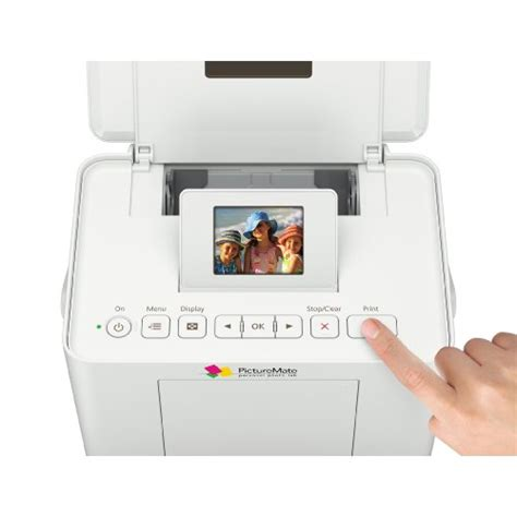 Printer Epson Picturemate Charm epson picturemate charm personal photo lab inkjet printer c11ca56203 theofficepanda office