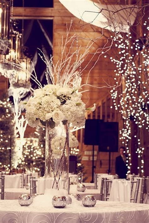 Winter Wedding Decoration - 15 creative winter wedding ideas hative