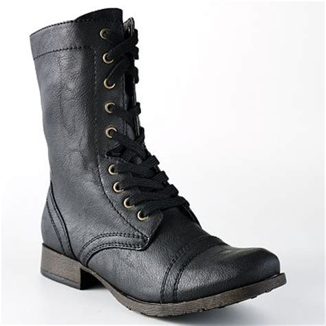black combat boots for juniors boot yc