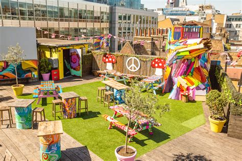roof top bars shoreditch there s a psychedelic party on a shoreditch rooftop and