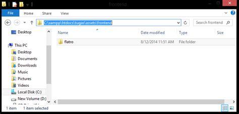 yii layout file menggabungkan template bootstrap dengan yii framework e