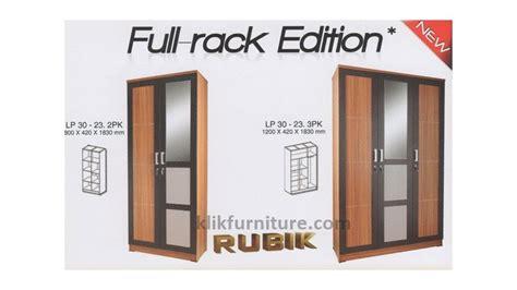 Lemari Tv Toppan lemari murah pintu 2 dan 3 rack rubik toppan