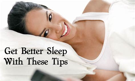 how to get to a better tips for getting better sleep at