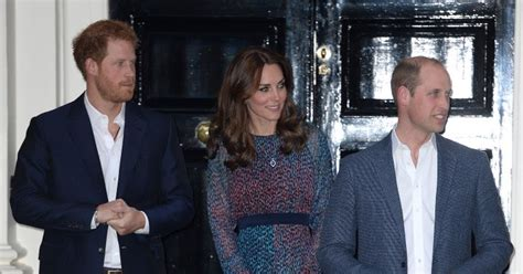 kensington palace william and kate duchess kate william kate harry and george welcome the