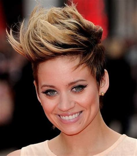 hairstyles for short hair mohawk mohawk hairstyles for women with short and long hair