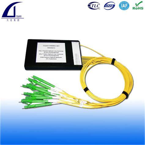 Fiber Optic Passive Splitter 1x2 With Modulebox fiber optic splitter plc splitter in abs box
