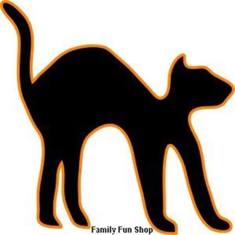 black cat template halloween pinterest