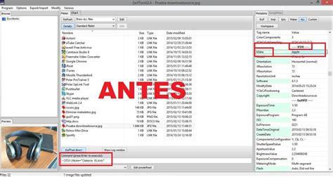 metadatos imagenes jpg como eliminar o editar los metadatos de tus fotos o im 225 genes
