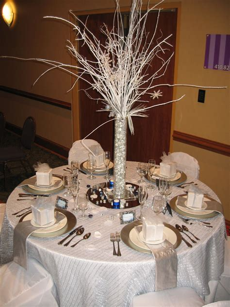 Winter Wonderland Table Decor   Centerpieces & Table Decor
