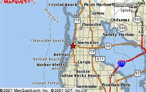 map of clearwater florida and surrounding areas area map