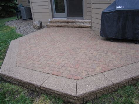 Patio Paver Cost Brick Pavers Canton Plymouth Northville Arbor Patio Patios Repair Sealing