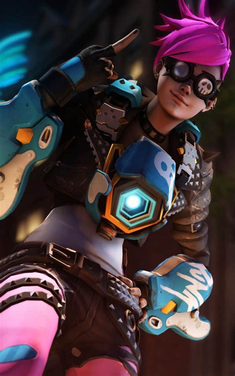 punk tracer overwatch  pure  ultra hd