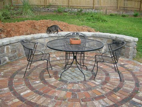 terrace modern brick patio patterns floor ideas with