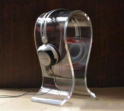 Stand Holder Display Untuk Headphone Headset Acrylic Tipe Universal Agb Style Cool New Stands For Your Headphones Store