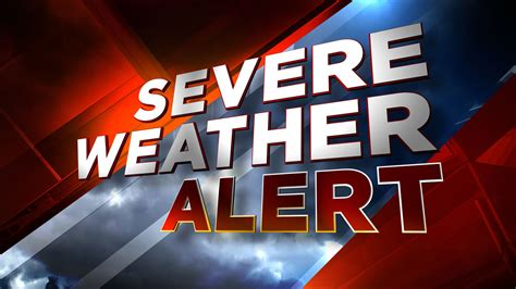 New Alert Is Wired 2 by Severe Weather Warning Www Pixshark Images