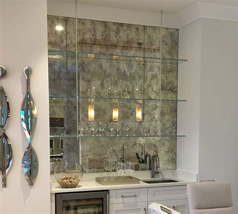 Backsplash For Kitchen Walls by Antique Mirror Subway Tiles Builders Glass Of Bonita Inc