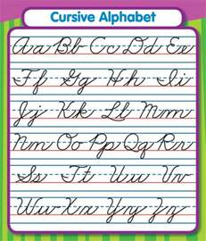 search results for zaner bloser cursive chart printables