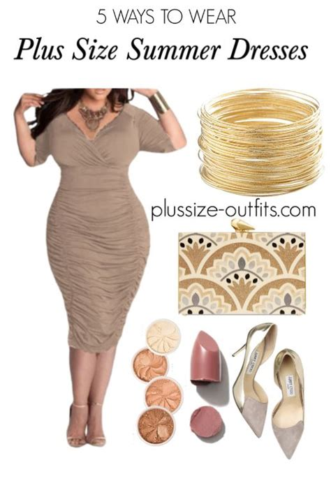 8 Ways To Wear Summer Clothes In Other Seasons by 5 Brown Plus Size Summer Dresses That Will Flatter Your