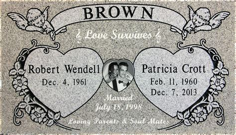 Engraved Headstone Clipart Clipground Headstone Designs Templates