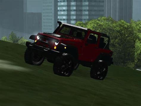 jeep rubicon inside gta san andreas jeep wrangler rubicon 2012 mod gtainside com