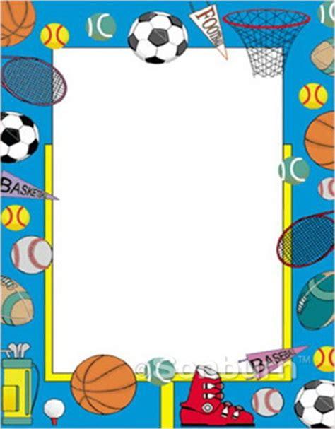 """poster board sports border design 40698 22""""x28"""" 12 pt."""
