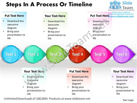 process steps template business power point templates steps process or timeline