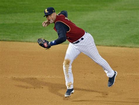 The Time Fielding in rehab jeter s a hit at plate not in the field ny daily news
