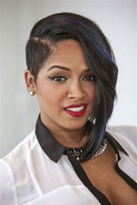 oneside black hair styles black women short cuts short hairstyles 2016 2017
