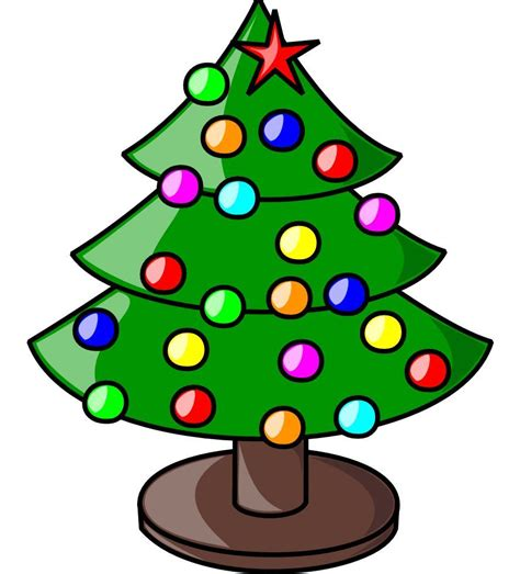 clip art christmas tree clip images free