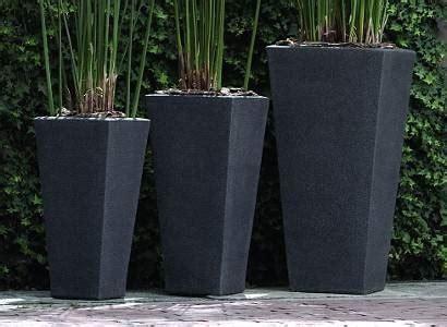 vasi in resina rettangolari fioriere in resina vasi
